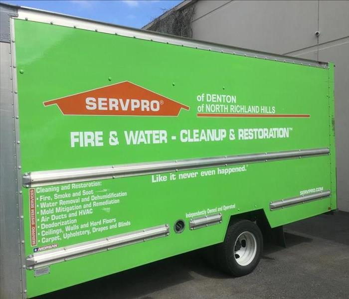 SERVPRO Trucks are Loaded and Ready!