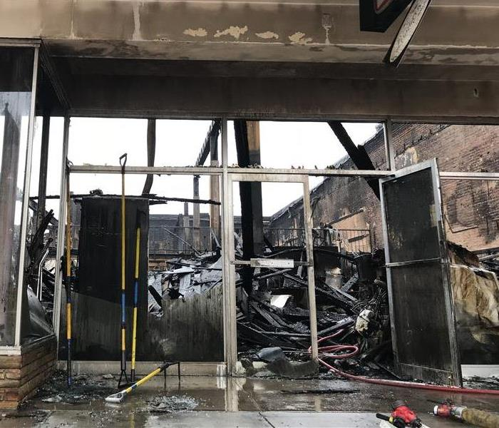 Mall Fire in Denton Texas Affects Local Businesses