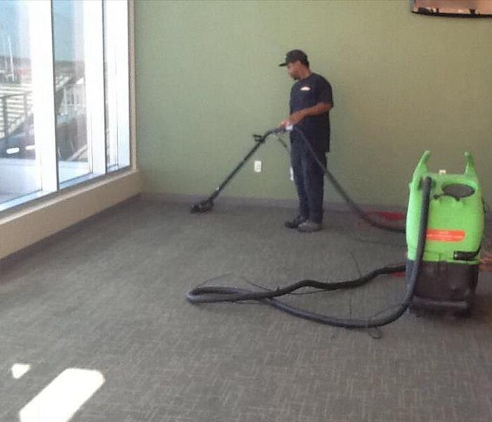 Carpet Cleaning at UNT