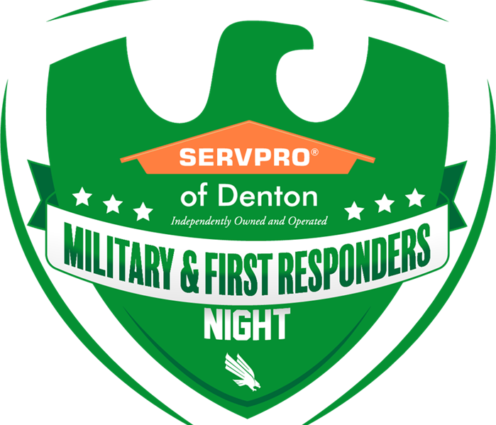Denton First Responder Game Logo for UNT